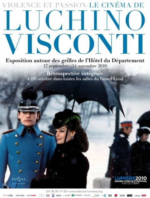photo : VIOLENCE ET PASSION, le cin��ma de Luchino Visconti - Lyon.