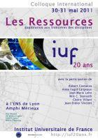 « Les ressources »