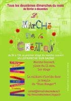 Marché de la création de Villefranche-sur-Saône