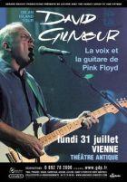 David Gilmour, la voix et la guitare de Pink Floyd